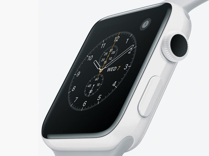Apple Watch Series 5: Apple onthult per ongeluk bijzonder interessante upgrade - Keramische kast Apple Watch 2017