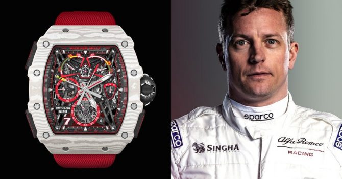Richard Mille Verwelkomt F1 Coureur Kimi Räikkönen Met De Nieuwe RM 50-04 Tourbillon Split-Seconds Chronograph