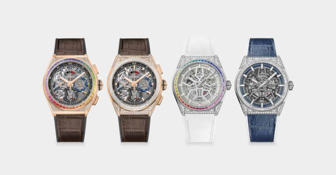 De Zenith Defy Classic Wordt Met De Defy High Jewelry