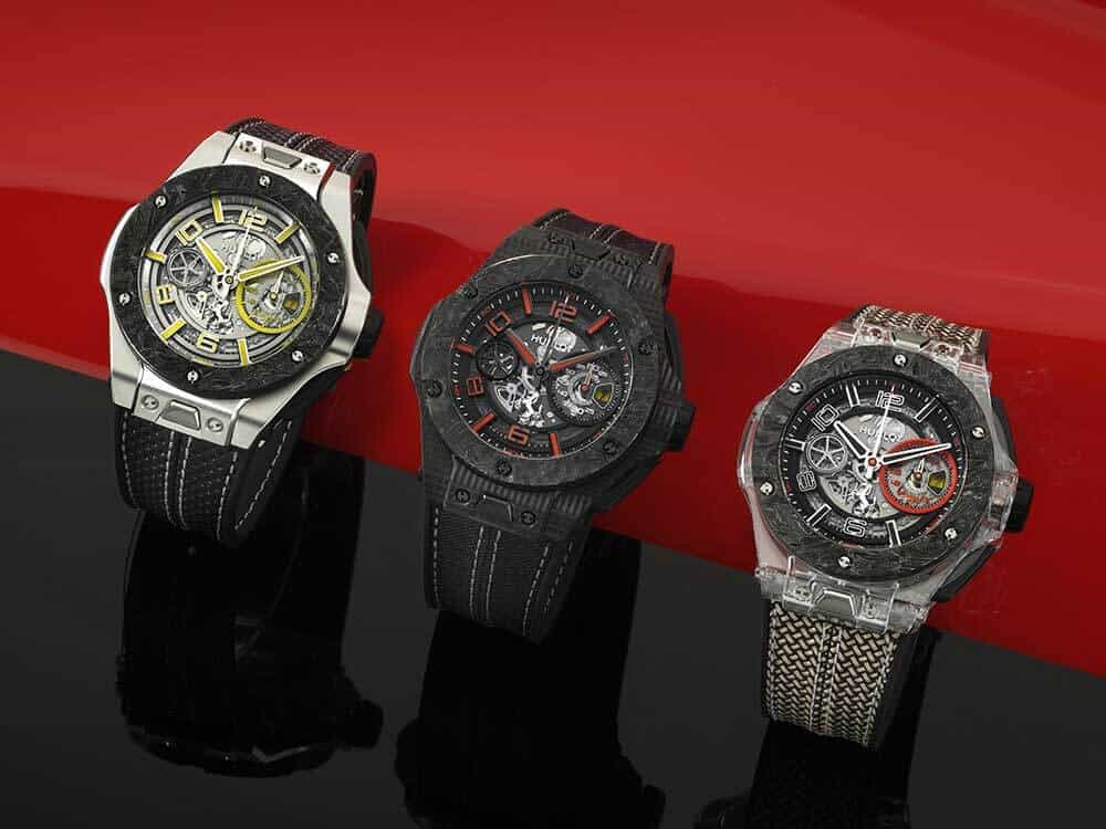 De Hublot Big Bang Scuderia Ferrari 90th Anniversary