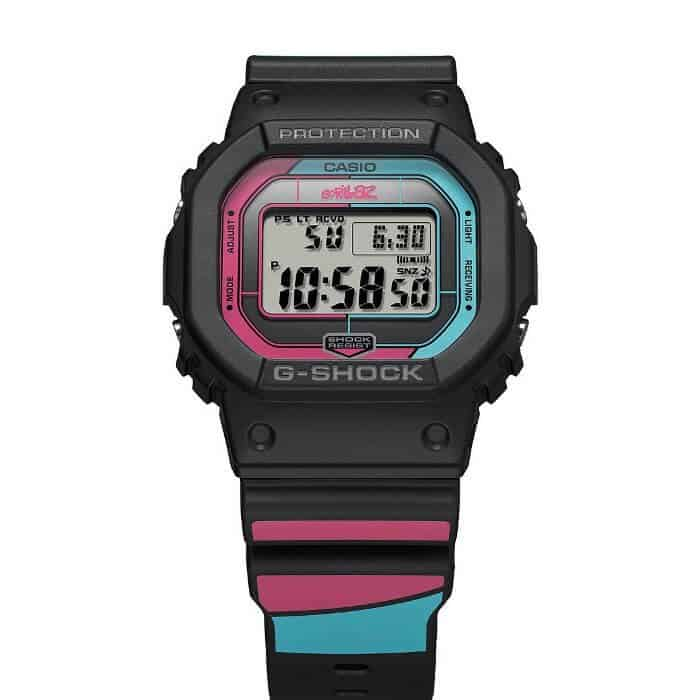 "Casio G-Shock horloges: Het nieuwe Casio G-Shock horloge DW-5600 Gorillaz ""The Now Wow"""