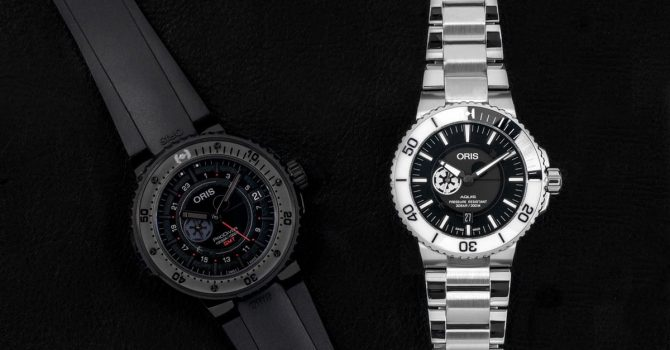 Oris Introduceert: De Star Wars Limited Edition-horlogesets Met Darth Vader Prodiver En Stormtrooper Aquis