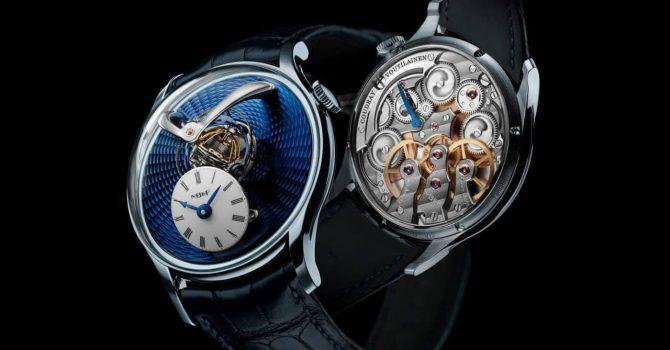 Nieuw Spectaculair Horloge MB&F Legacy Machine Thunderdome: S'wereld Snelste Triple-axis Escapement