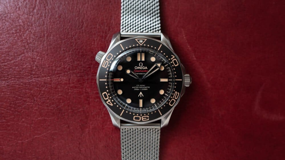 Omega Onthult De No Time To Die Seamaster Diver 300M 007 Editie