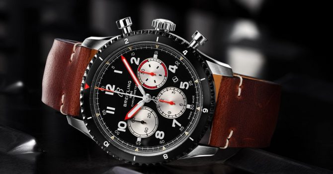 Vele Shake I-Boel: The New Breitling Watch Aviator 8 B01 Chronograph 43 Mosquito