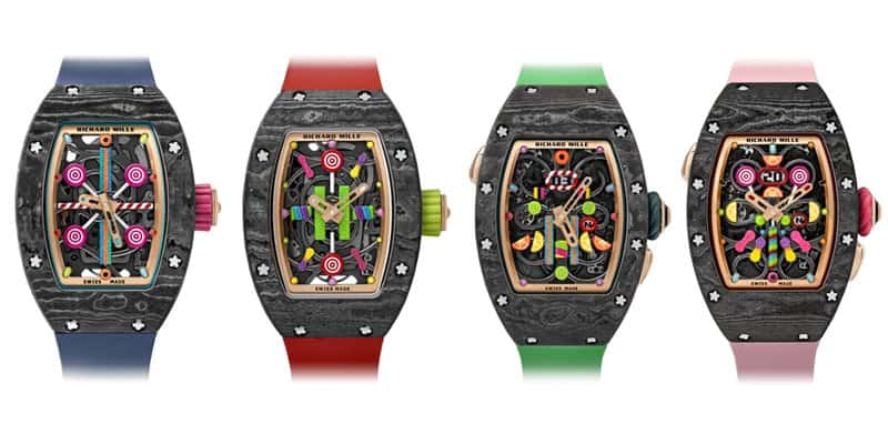 Dameshorloge 2019: Richard Mille Bonbon Collection
