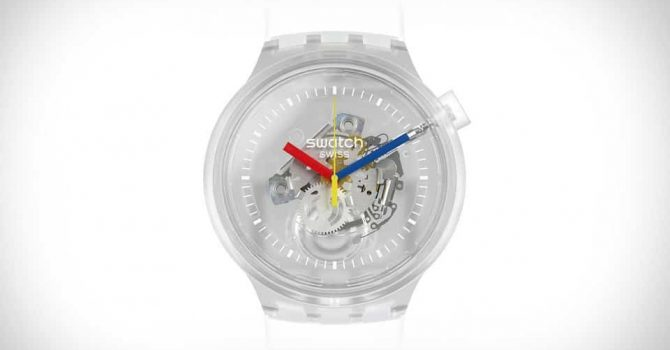 ISwatch Ingenisa I-New Bold Jellyfish Watch entsha