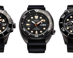 Seiko annoncerer Prospex The Black Series Limited Edition
